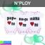 ชุด เด็กอ่อน N'PLOY I Love PA&MA เซ็ท 3 ตัว ราคา 210 บาท ปกติ 630 บาท thumbnail 1