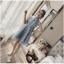ชุดเดรสออกงาน ตัวชุดด้านนอกเป็นผ้าโปร่งปักด้ายสีเทา ลวดลายตามแบบ thumbnail 7