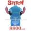Power Bank แบตสำรอง Stitch 8800 mAh ผิวยางด้าน สีน้ำเงิน thumbnail 2