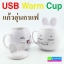 แก้วอุ่นกาแฟ USB Warm Cup การ์ตูน ราคา 195 บาท ปกติ 480 บาท thumbnail 1