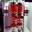 (Wave 110 i) โช้คอัพหลังคู่ YSS รุ่น G-ZA สำหรับ Honda Wave 110 i สี ดำ-แดง thumbnail 1