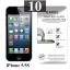 ฟิล์มกระจก iPhone 5 | ฟิล์มกระจก iPhone 5s/5c/SE Excel แผ่นละ 19 บาท (แพ็ค 10) thumbnail 1