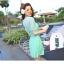 ชุดว่ายน้ำวันพีช สีเขียว แขนสั้น ช่วงไหล่ และแขนเสื้อเป็นผ้าทอเนื้อบาง thumbnail 10