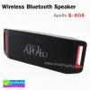 ลำโพง บลูทูธ Apollo Wireless Bluetooth Speaker รุ่น S-808 ราคา 725 บาท ปกติ 1800 บาท