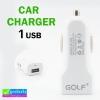 ที่ชาร์จรถ Golf 1 USB 1A. (1 A.) ลดเหลือ 90 บาท ปกติ 240 บาท
