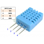 Digital Temperature and Humidity Sensor (DHT11)