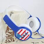 หูฟัง DiiD Headphone รุ่น IX-17 - สีน้ำเงิน