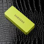 แบตสำรอง Power bank iPower 6000 mAh Samsung สีเขียว