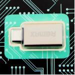 Adapter Remax RA-OTG1 USB - ทอง
