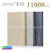 ELOOP E11 Power bank แบตสำรอง 11000 mAh ราคา 439 บาท ปกดิ 1,150 บาท