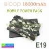 ORSEN E19/ELOOP E19 Power bank แบตสำรอง 18000 mAh แท้ ราคา 599 บาท ปกติ 990 บาท