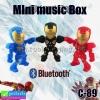 ลำโพง บลูทูธ Mini music Box C-89 ลดเหลือ 240 บาท ปกติ 490 บาท
