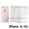 เคส iPhone 6/6s ซิลิโคนใส JZZS Jelwelly ลดเหลือ 100 บาท ปกติ 250 บาท