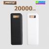 Remax Proda Power bank 20000 mAh แบตสำรอง มีจอ LCD ลดเหลือ 519 บาท ปกติ 1,600 บาท