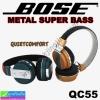 หูฟัง บลูทูธ Bass QC55 Bose Super ราคา 490 บาท ปกติ 1,020 บาท