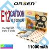 ELOOP E12 ORSEN Catoon Power bank 11000 mAh ราคา 489 บาท ปกติ 1,290 บาท