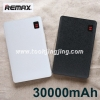 Power bank Remax Proda NoteBook 30000 mAh แบตสำรอง มีจอ LCD ลดเหลือ 630 บาท ปกติ 1,700 บาท