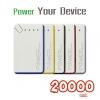 แบตสำรอง Power Your Device 20000 mAh สายชาร์จ 3 in 1