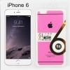 ฟิล์มกันรอย iPhone 6 เต็มจอ Glass Protector Flash Powder ราคา 95 บาท ปกติ 300 บาท