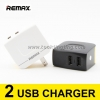 ที่ชาร์จ REMAX 2 USB CHARGER RMT-6188 ราคา 145 บาท ปกติ 400 บาท