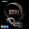 หูฟัง บลูทูธ ครอบหู REMAX RM-100H Stereo headphone ลดเหลือ 430 บาท ปกติ 1,150 บาท