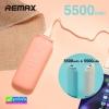 Remax Milk RPP-28 Power bank แบตสำรอง 11000 mAh (2 x 5,500) ราคา 579 บาท ปกติ 1,560 บาท