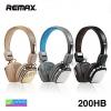 หูฟัง ครอบหู REMAX 200HB Stereo headphone ลดเหลือ 820 บาท ปกติ 2,000 บาท