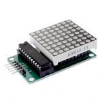 LED Dot Matrix Driver Module (MAX7219) 8x8 ขนาด 32mm x 32mm + สายไฟ