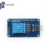 DHT11 Digital Temperature & Humidity Sensor Module by Catalex