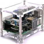 Raspberry Pi B Model 2 and Model 3 Shell - Full Function Housing