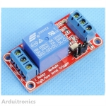 5v 1-Channel Relay High/Low Level Trigger Relay Module Red PCB