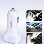 ที่ชาร์จในรถ remax Car Charger 3.6A USB 3 Port สีขาว