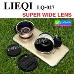 เลนส์ Lens 2 in 1 SUPER WIDE Angle 0.45X & Macro Lieqi LQ-027 ของแท้ ลดเหลือ 259 บาท ปกติ 910 บาท