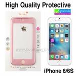 ฟิล์มกระจก iPhone 6/6s High Quality Protective Case & Glass 360° Full ราคา 110 บาท ปกติ 275 บาท