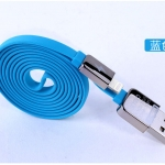 สายชาร์จ remax Cable สำหรับ iOS สีฟ้า กลิ่นหอม