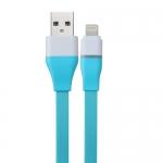 สายชาร์จ&ซิ้งค์ สำหรับ ไอโฟน Powermax USB รุ่น U302 สีฟ้า