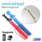 แขนช่วยถ่ายรูป Extendable Selfie Monopod For Cameras And Smartphones ราคา 285 บาท ปกติ 710 บาท