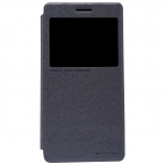 nillkinแท้ เคสฝาพับเซนโฟน5 รุ่น Sparkle Leather Case สีดำ