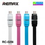 สายชาร์จ Micro USB REMAX BREATHE Data Cable RC-029m (สายแบน) แท้ ราคา 85 บาท ปกติ 275 บาท