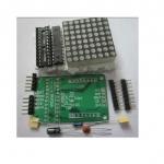 LED Dot Matrix Driver Module (MAX7219) 8x8 (DIY Kit)