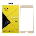 ฟิล์มกระจกนิรภัย Samsung Note 5 เต็มจอ ยี่ห้อ Diamond สีทอง