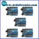 Arduino UNO R3 (Lot of 5 pcs)+Free USB Cable