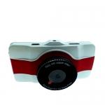 กล้องติดรถยนต์ Car Camcorder AM600 สีขาว-แดง