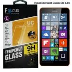 โฟกัส ฟิล์มกระจก Nokia Lumia 640 LTE