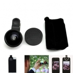 Selfie Cam Lens เลนส์เซลฟี่ สีดำ