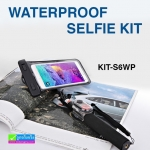 แขนช่วยถ่ายรูป พร้อมรีโมทกันน้ำ ASHUTB Waterproof Selfie Kit KIT-S6WP ราคา 560 บาท ปกติ 1,400 บาท