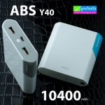 ABS/ARUN Y40 Power bank แบตสำรอง 10400 mAh