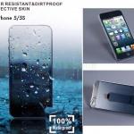 ฟิล์มหุ้มกันน้ำ กันฝน สำหรับไอโฟน5/5S