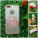 เคสไอโฟนSE เคสไอโฟน5/5S เคส ใส สีชมพู