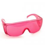 แว่นตากันน้ำ สีชมพู ส่ง45 ขาย99